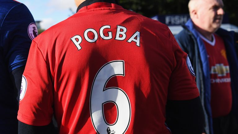 9e9d66b1351 Paul Pogba replica shirts are the biggest sellers on sportsdirect.com