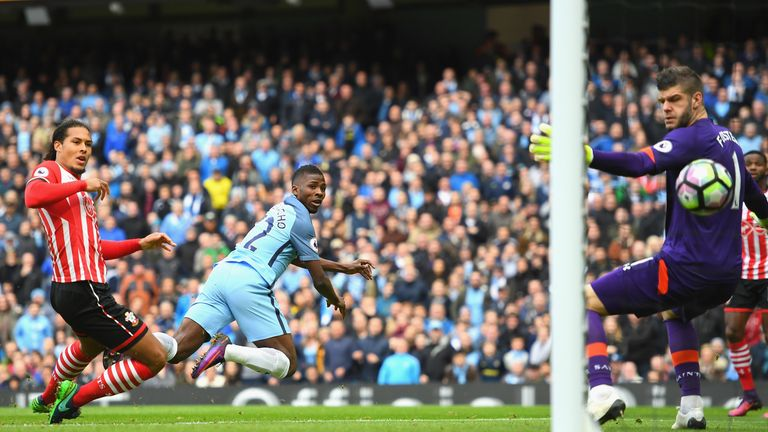Kelechi Iheanacho equalised for the home side