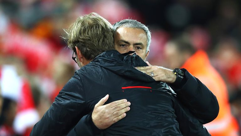 Jurgen Klopp is ready to renew his rivalry with Jose Mourinho this Sunday, live on Sky Sports 1