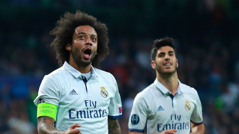 Marcelo's strike deflected in for the second