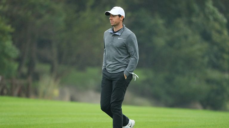McIlroy sits in a tie for seventh after the opening two rounds