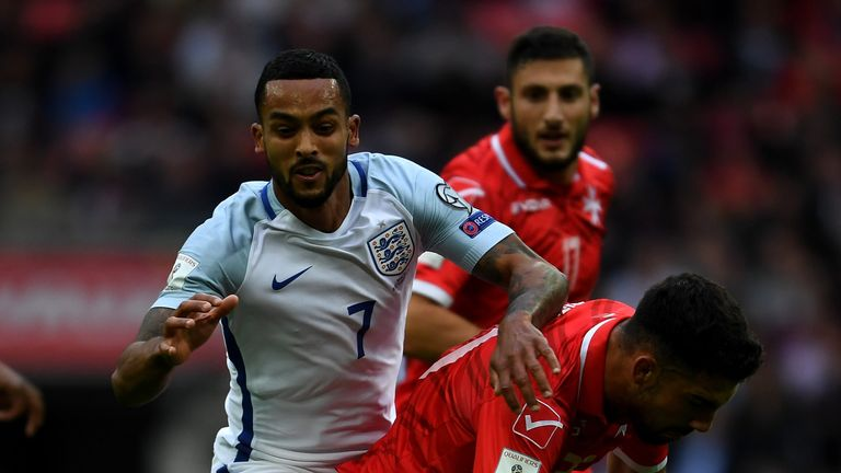 Theo Walcott will be hoping to replicate his Arsenal form for England