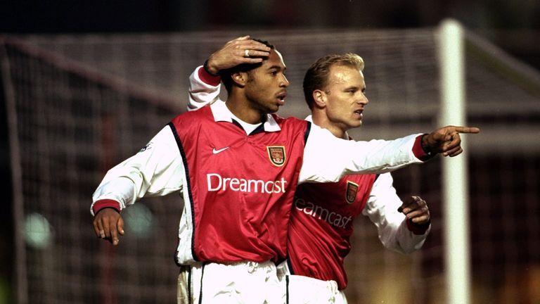 Thierry Henry and Dennis Bergkamp are among the EU cizitens that have graced the Premier League