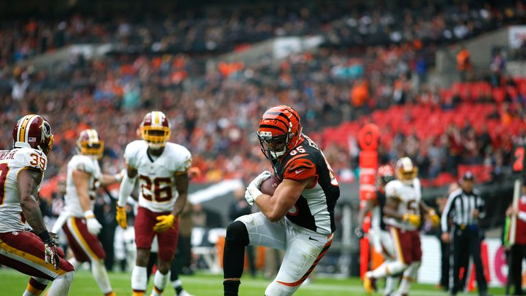 Tyler Eifert caught his first touchdown of the season as the Bengals dominated the 3rd quarter