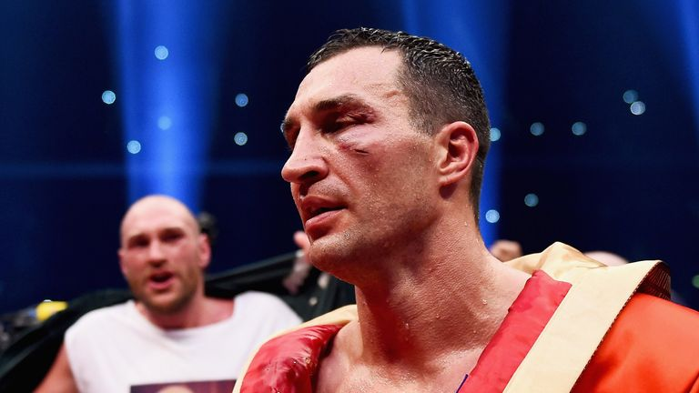 Wladimir Klitschko lost his titles to Tyson Fury last year