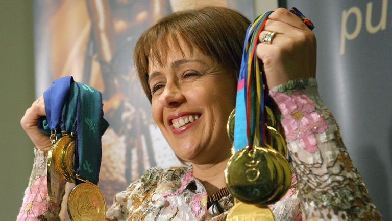Tanni Grey-Thompson won 11 gold medals during her career