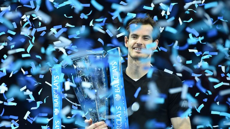 Defending champion Andy Murray is not expected to return to serious competitive action in 2017