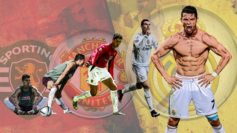 The evolution of Cristiano Ronaldo but can he really play on beyond 40?