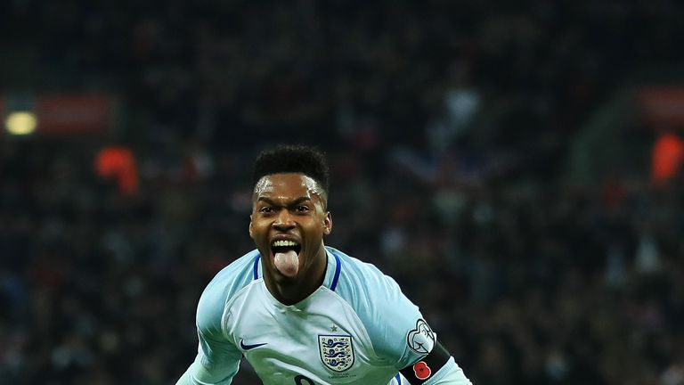 Daniel Sturridge netted the opener for England on Friday evening