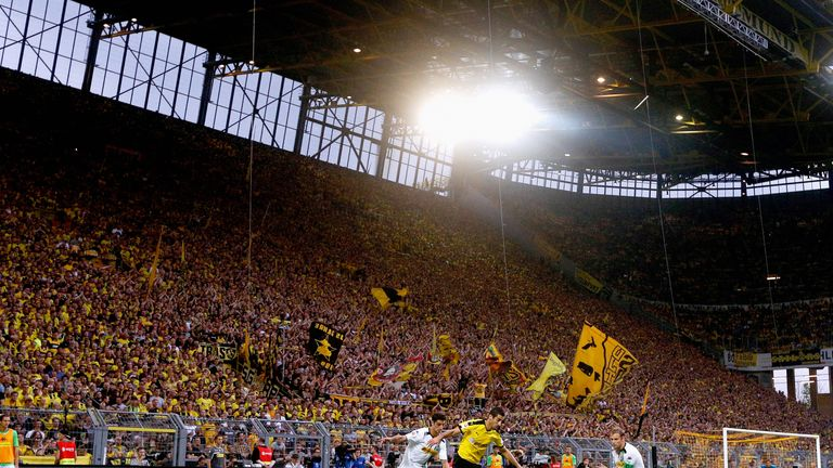 Dortmund's 'Yellow Wall' haven't seen a Bundesliga loss since April 2015