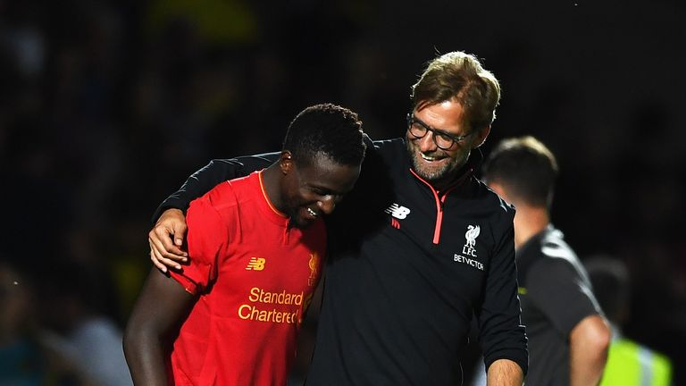Klopp praised the attitude of Divock Origi