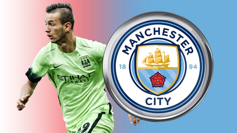 Manchester City's Bersant Celina is impressing on loan at Twente