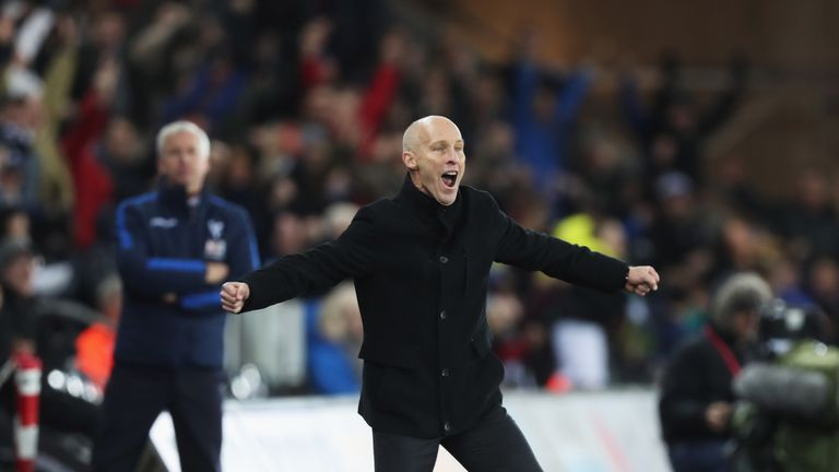 Bradley managed just two wins during his time as Swansea boss