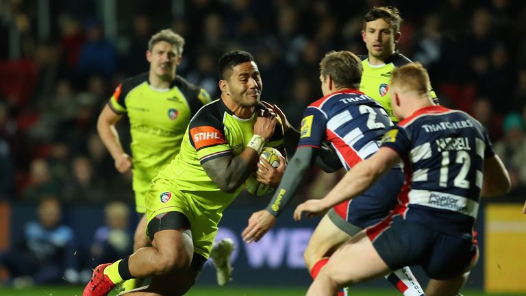 Leicester Tigers edged out Bristol in a close match at Ashton Gate on Friday