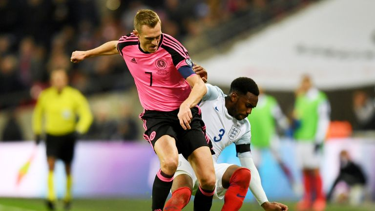 Darren Fletcher was the captain for Scotland on Friday evening