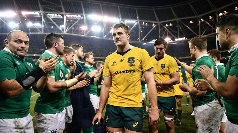 Defeat at the Aviva Stadium in 2016, was Australia's second straight loss to Ireland