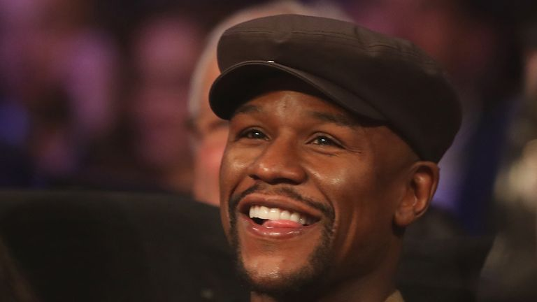 Mayweather retired  in September 2015