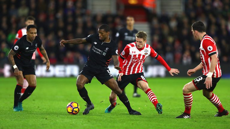Liverpool were held to a goalless draw at Southampton