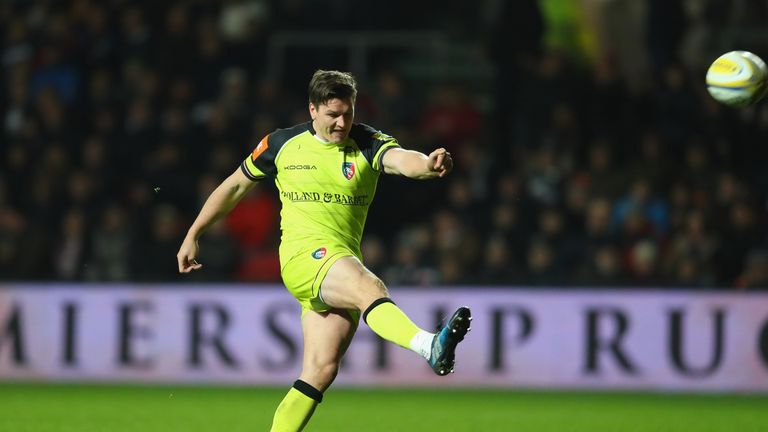 Freddie Burns kicked three penalties and a conversion for the visitors