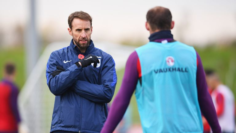 Gareth Southgate is preparing for his final game as England interim manager