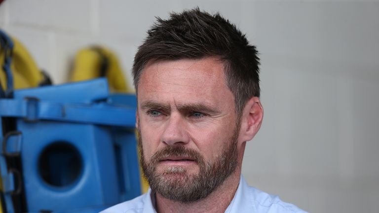 Graham Alexander has been nominated for the Sky Bet League One Manager of the Month Award for November