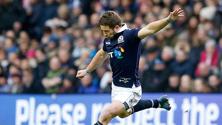 Laidlaw's Six Nations campaign was curtailed by an ankle injury