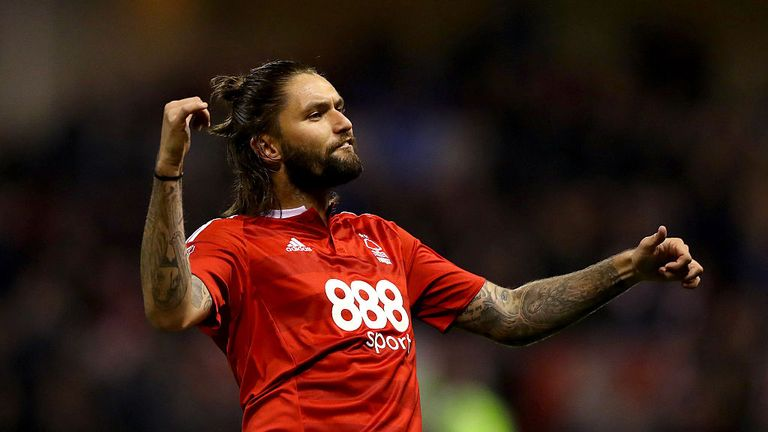 Henri Lansbury scored a hat-trick in Nottingham Forest's 5-2 win at Barnsley last Friday