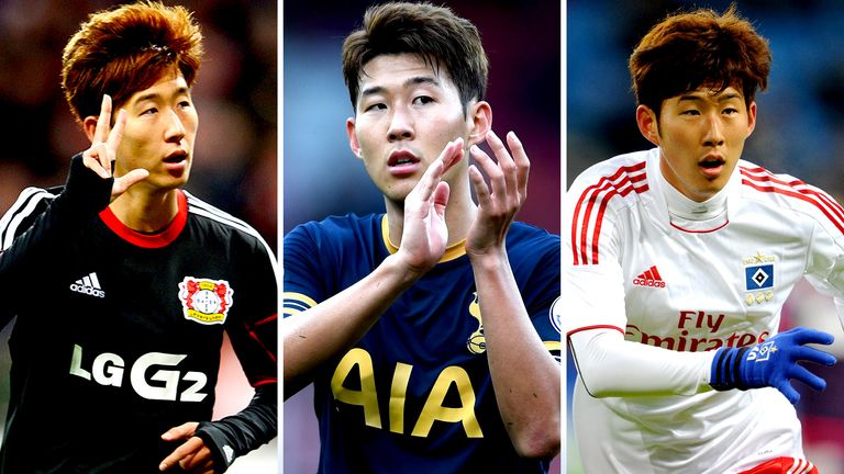 Former Hamburg and Bayer Leverkusen forward Heung-Min Son has shined at Tottenham
