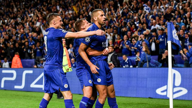 Leicester have made a brilliant start to their Champions League campaign