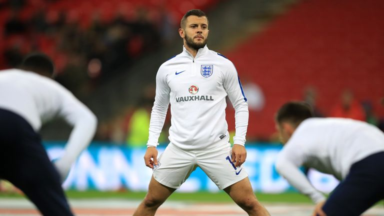 Wilshere's displays and run of fitness for Bournemouth saw him return to the England squad in November