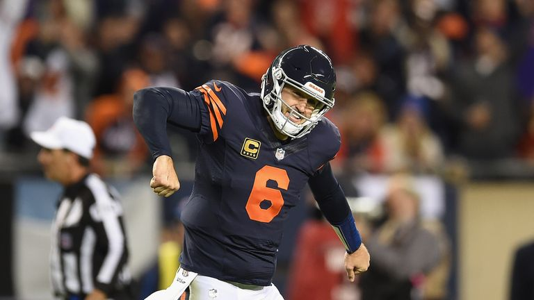 Jay Cutler returned from injury to replace Brian Hoyer and lead the Bears to their second win this season