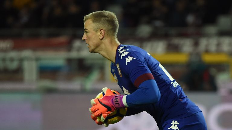 Joe Hart is aiming to help Torino qualify for European competition next season