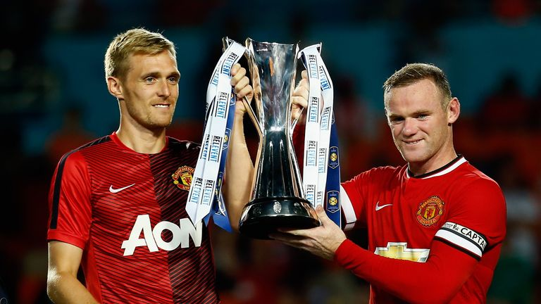 Fletcher played with Wayne Rooney for many years