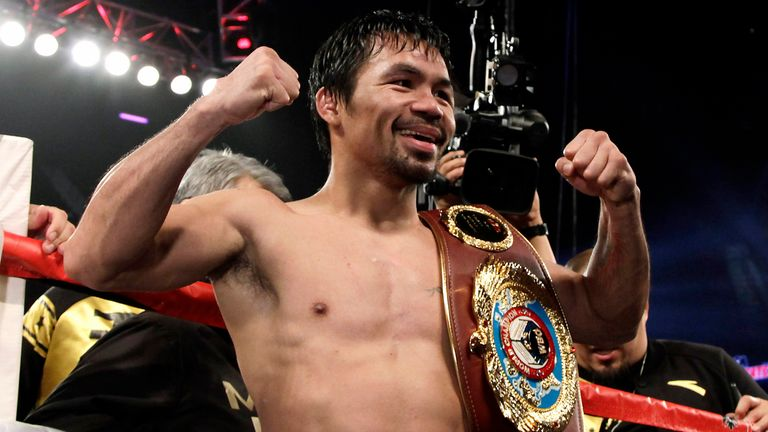 Manny Pacquiao is a world champion at welterweight again