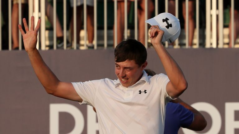 Fitzpatrick claimed his biggest win to date in Dubai