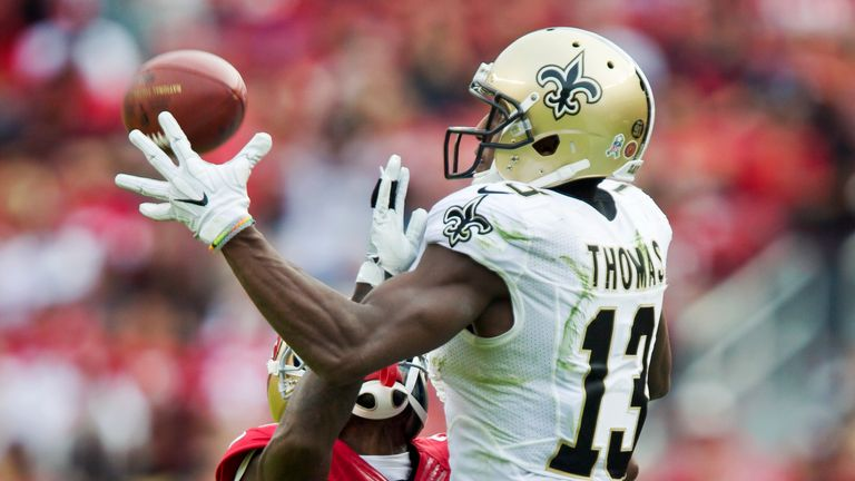 Michael Thomas is a ball-catching machine for the Saints