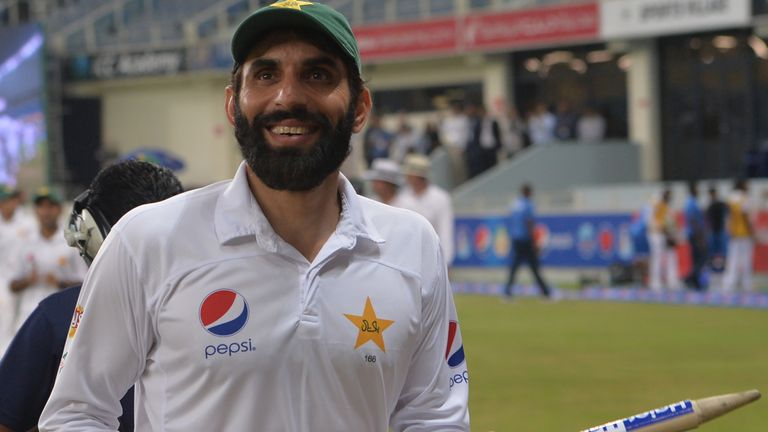 Misbah captained Pakistan for the 50th time in Tests, against New Zealand