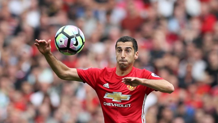 Henrikh Mkhitaryan has so far failed to sparkle at Old Trafford