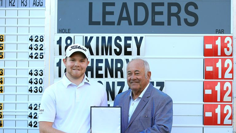 Nathan Kimsey came through all three stages of Qualifying School, and won the final stage in Spain
