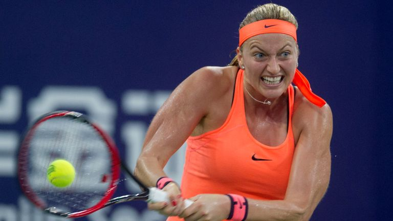 Petra Kvitova has been hurt in a knife attack