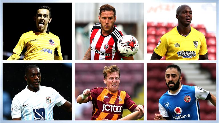 League One PFA Fans' Player of the Month vote