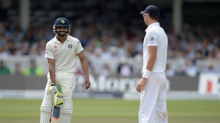 Jadeja and Anderson had a spicy relationship during the series