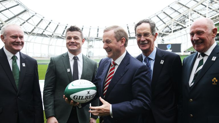 Ireland were the only bidders never to have hosted a Rugby World Cup before and finished bottom in the report
