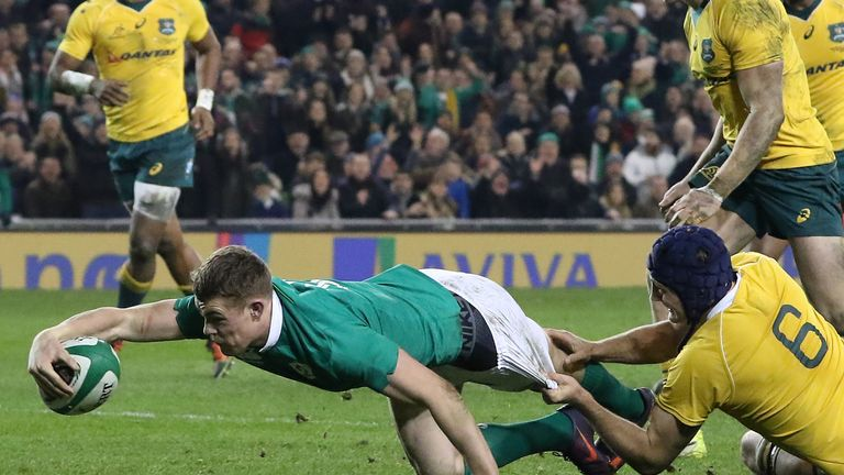 Garry Ringrose is a man with a big future in the game, according to Simon Easterby