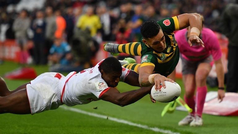 Australia last visited England in 2016 when they won the Four Nations