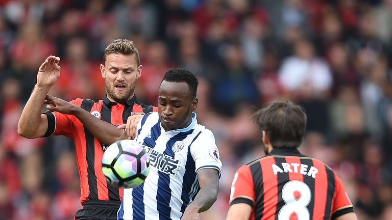 Berahino has only made five appearances for West Brom this season