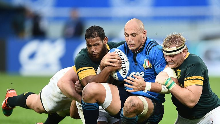 Sergio Parisse led Italy superbly on an emotional afternoon