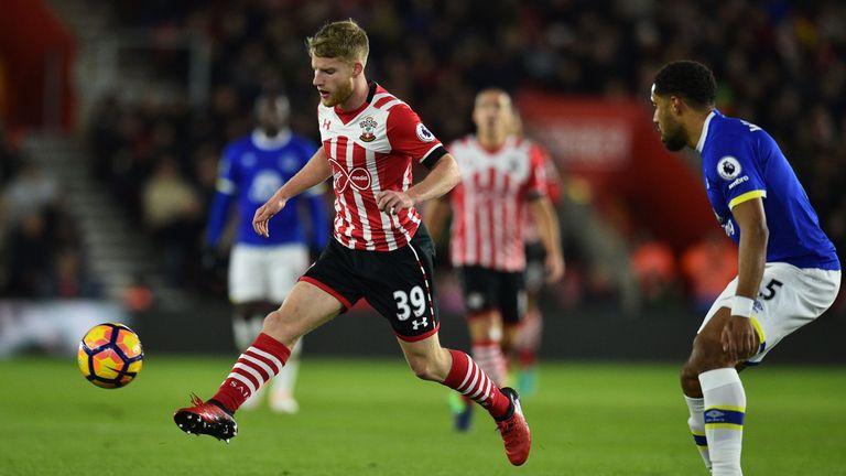 Josh Sims shone on his Premier League debut for Southampton