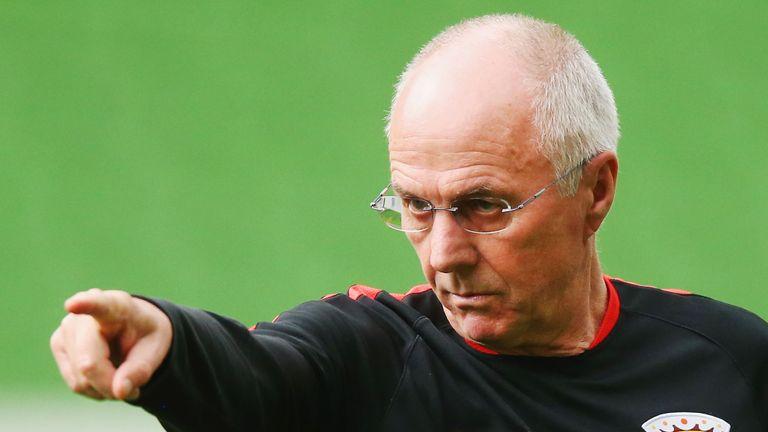 Sven-Goran Eriksson has left Shanghai