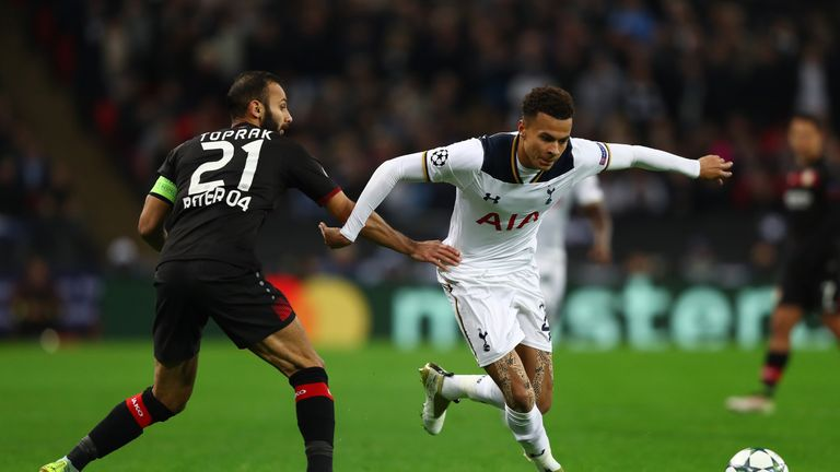 Omer Toprak helped knock Tottenham out of the Champions League